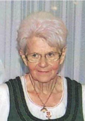 Portrait von Elfrieda Koch geb. Gutjahr